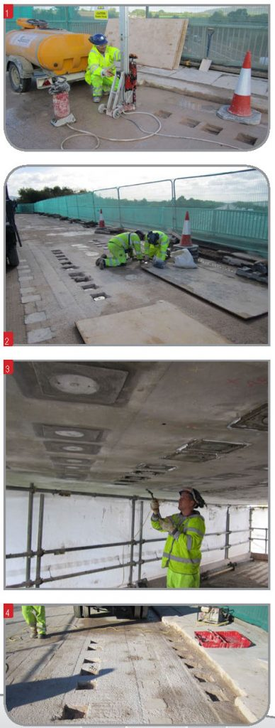 bridge deck strengthening