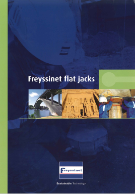 Freyssinet FlatJacks
