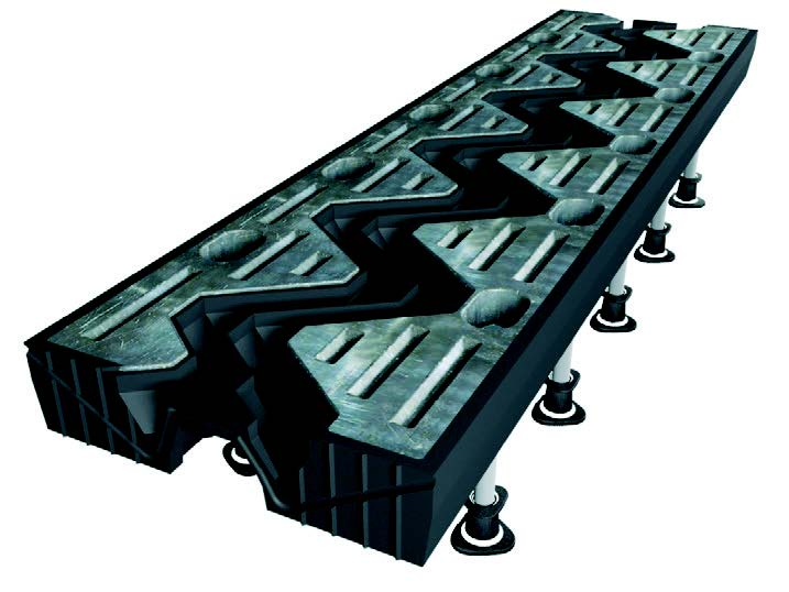 Bridge Expansion Joints Modular Cantilever Mat