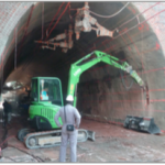 Tunnel Bore Enlargement and Strengthening – Harfleur Tunnel