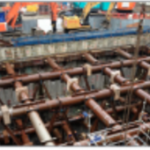 Stressing of Basement Wall Propping System – Farringdon Station, Crossrail C430, London