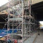 Temporary Bridge Supports – Kennington Railway Bridge, Oxford