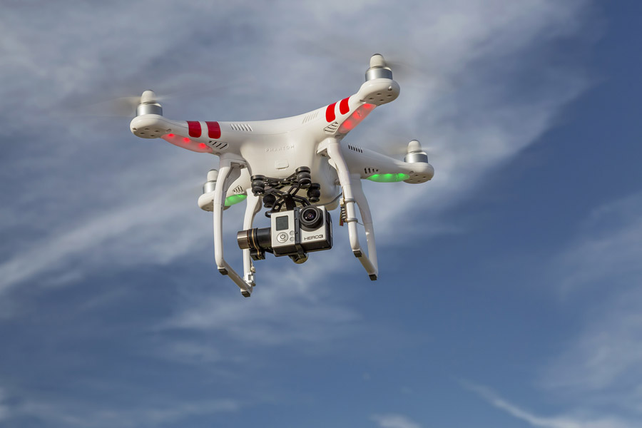 FORT COLLINS, CO, USA, JULY 24, 2014: Airborne radio controlled