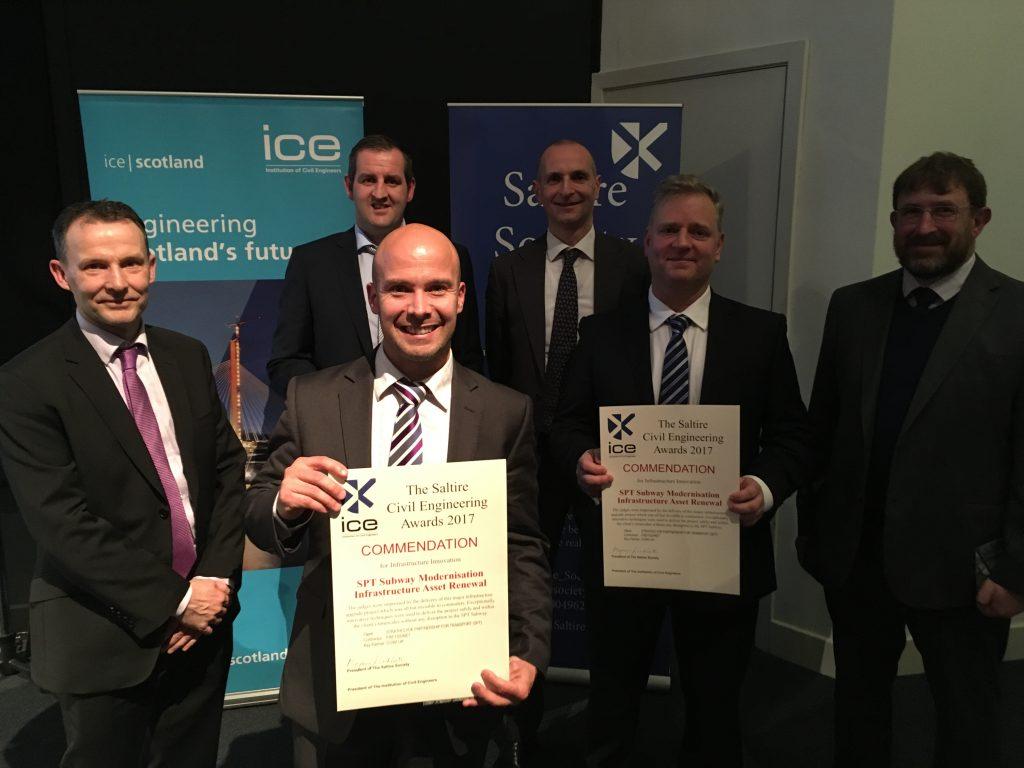 ICE Saltire Civil Engineering Awards