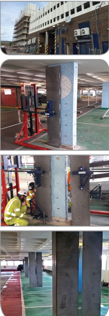 Column strengthening