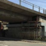 DLR Deptford Viaduct Mitigation Works: Temporary Bearing Installation