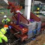 Heathrow Airport T2B Temporary Works Design & Brace Removal