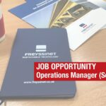 Job opportunity – Operations Manager (Southern)